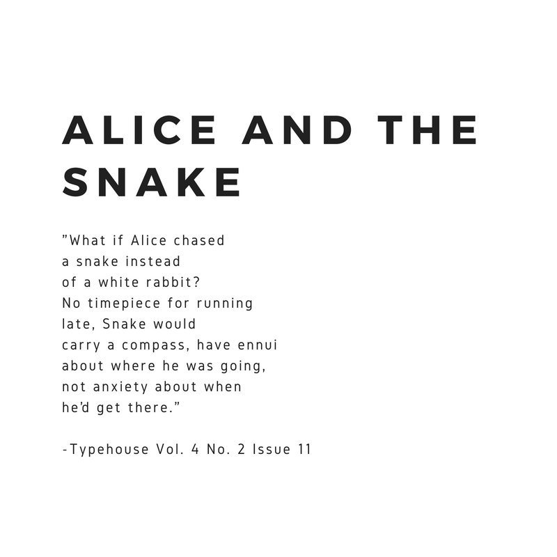 Alice and the SNAKE